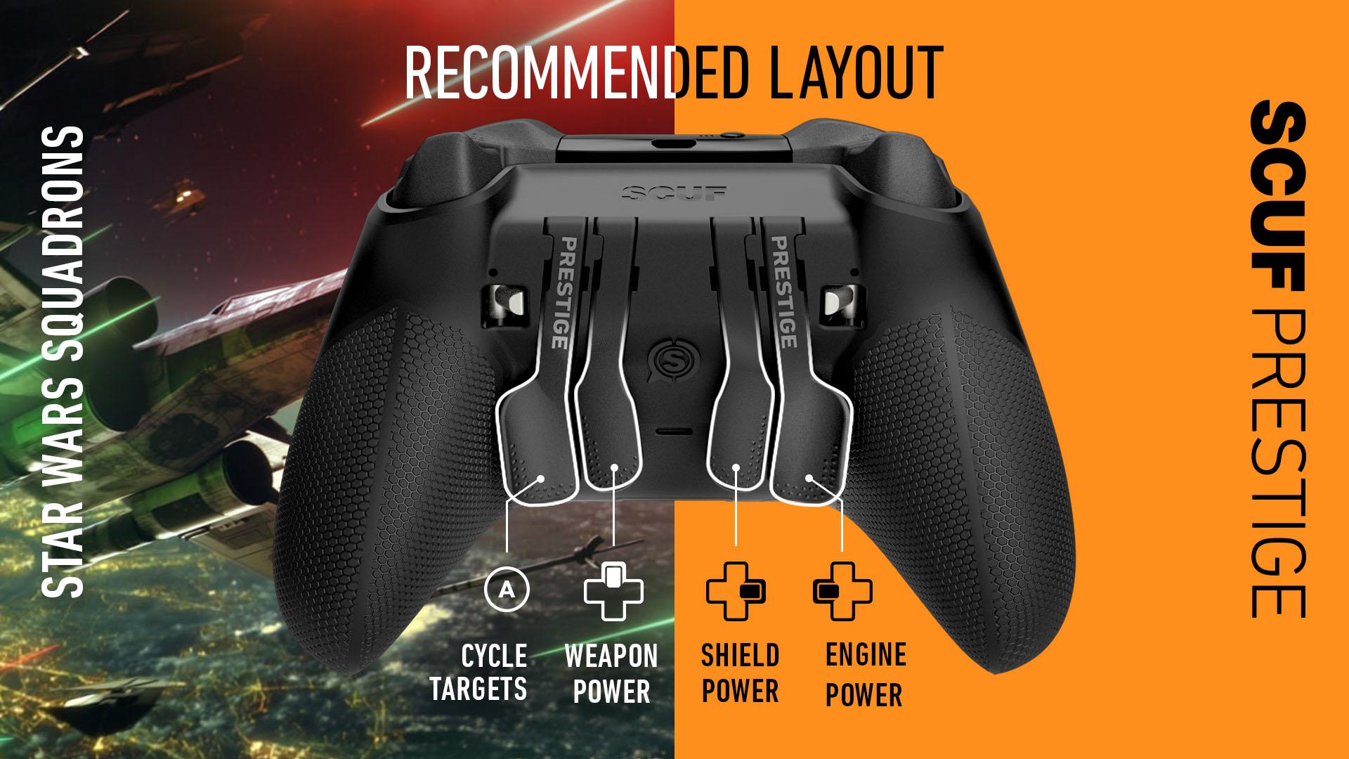 Star Wars Squadrons Xbox Controller SCUF PRESTIGE