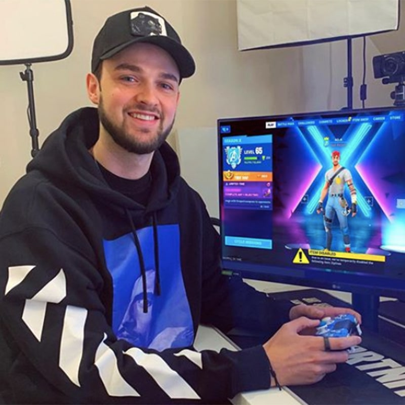 Ali-A's influence on the gaming world cannot be understated. Getting his start with Call of Duty and Minecraft content.