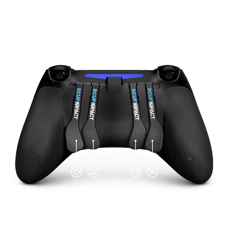 Jankz recommended layouts for Apex Legends using a SCUF Impact Controller