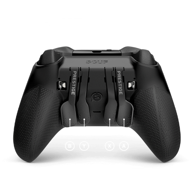 Jankz recommended layouts for Apex Legends using a SCUF Prestige Controller