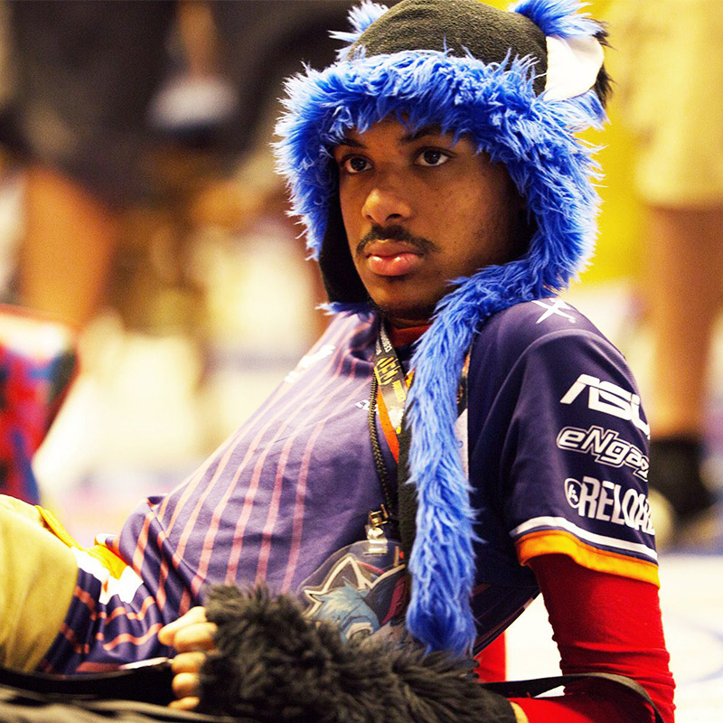Five-time EVO Champion, SonicFox, was only 16 years old when they won their first EVO