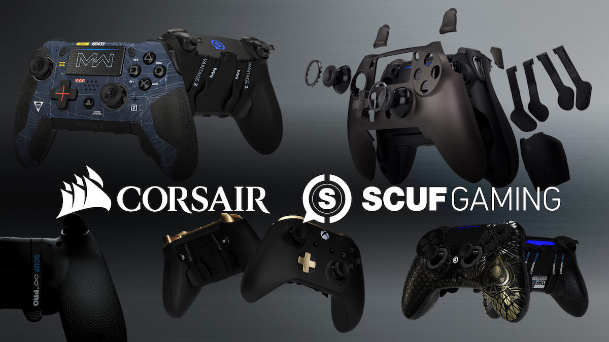 Corsair Agrees To Acquire Scuf Gaming Adding Premium Gaming