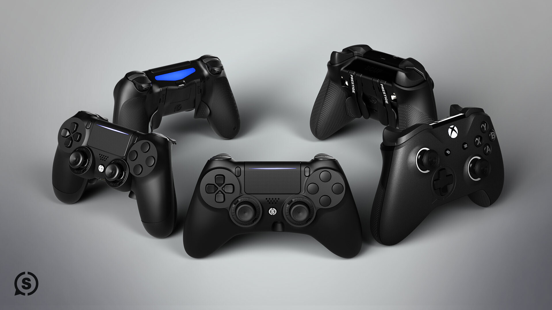 CUSTOM SCUF CONTROLLERS FOR PS4, XBOX ONE AND PC