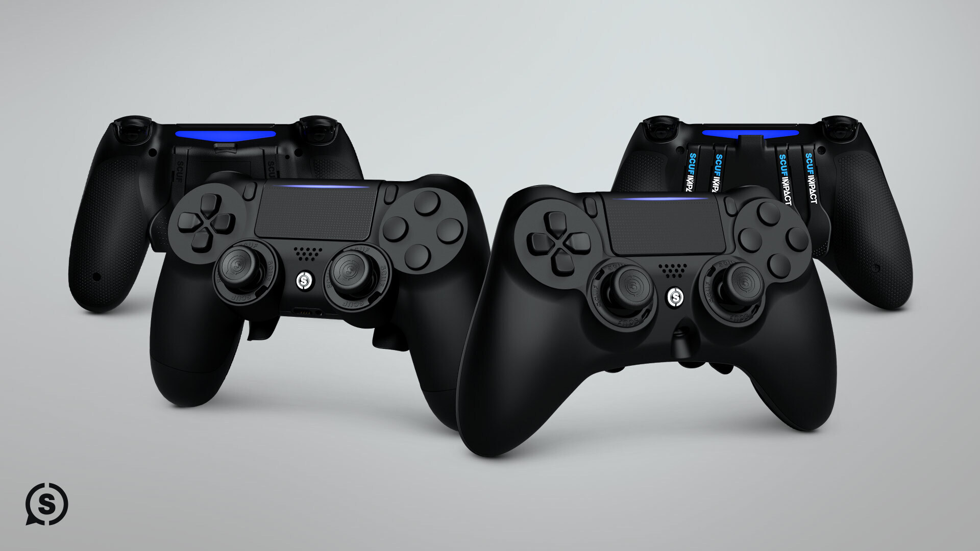 SCUF IMPACT AND INFINITY 4PS PRO FOR PLAYSTATION AND PC