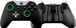 Front/Back Scuf Elite Controller Black