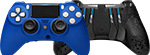 Front/Back Scuf Impact Controller Sapphire