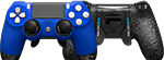 Front/Back Scuf Infinity 4PS Pro Controller Sapphire