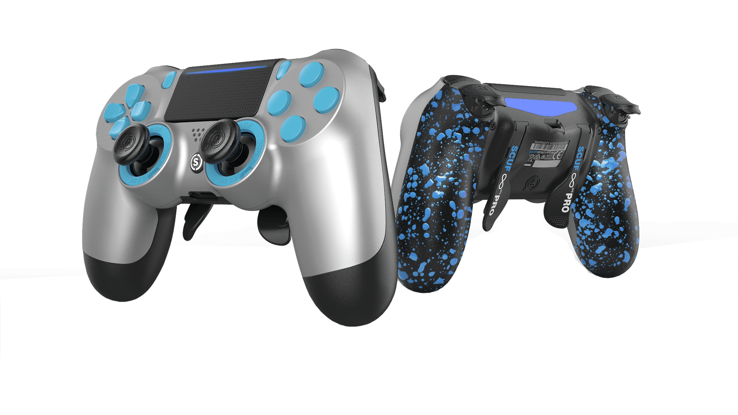 YOUR PERSONALIZED CONTROLLER FOR COMPETITION.