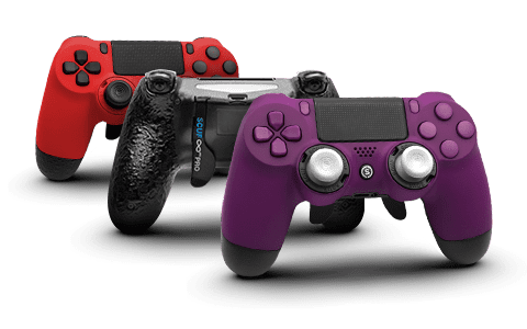 The familiar shape of the 'Pro' makes it the perfect introduction to SCUF's customizable performance controllers—featuring two paddles, interchangeable thumbsticks, and adjustable triggers.