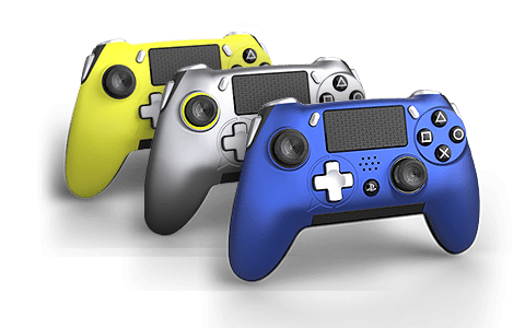 Our officially licensed PlayStation® 4 controller is designed to improve performance, comfort, and maximize hand use—featuring four remappable paddles, SAX buttons, and many other features.