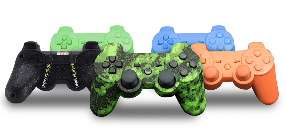 SCUF PS for Playstation 3custom controller, esports, esports event, pro gamer, controller accessories, custom PS3 controller, PC