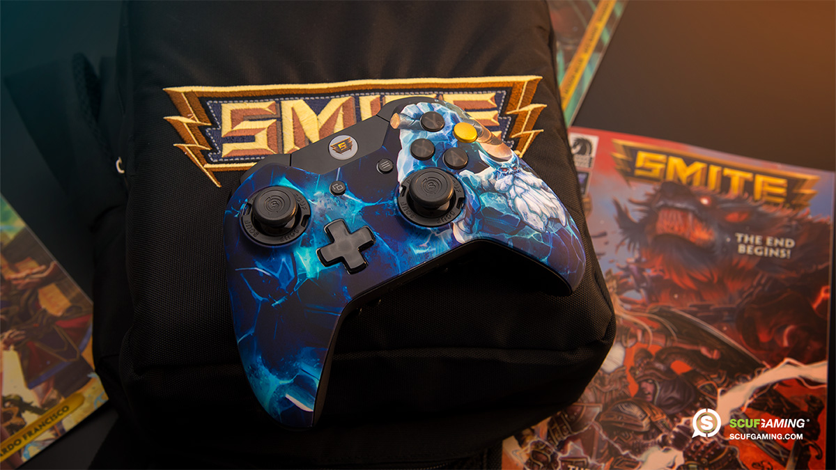 custom controller, esports, esports event, pro gamer, controller accessories, custom Xbox One Controller, Smite