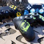 custom controller, esports, esports event, pro gamer, controller accessories, custom PS4 controller