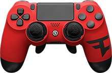 custom controller, playstation 4, faze clan, esports, scuf gaming