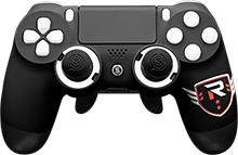 custom controller, playstation 4, esports, rise nation, scuf gaming
