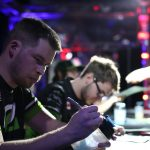 OpTic Gaming at the SCUF signing booth in MLG Vegas 2016