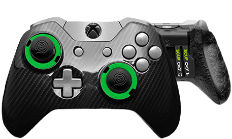 Xbox One professional controller Infinity1 carbon fiber black