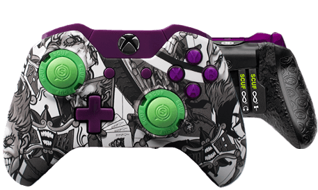 Xbox One professional controller Infinity1 designer jester