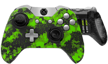 Xbox One professional controller Infinity1 digital camo green