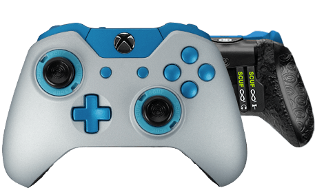 Xbox One professional controller Infinity1 prestige anodized silver
