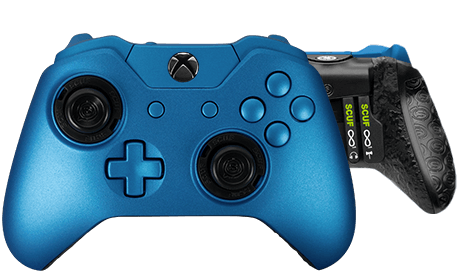 Xbox One professional controller Infinity1 spectrum glacier blue