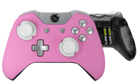 Xbox One professional controller Infinity1 spectrum pinky