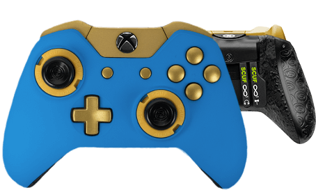 Xbox One professional controller Infinity1 spectrum smurf