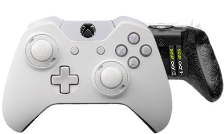 Xbox One professional controller Infinity1 spectrum white