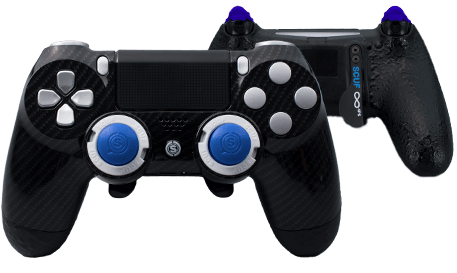 PlayStation 4 professional controller Infinity4PS carbon fiber black