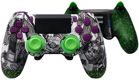 PlayStation 4 professional controller Infinity4PS designer jester