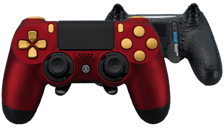 PlayStation 4 professional controller Infinity4PS prestige ruby