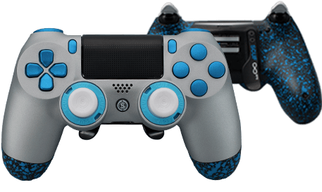 PlayStation 4 professional controller Infinity4PS prestige anodized silver