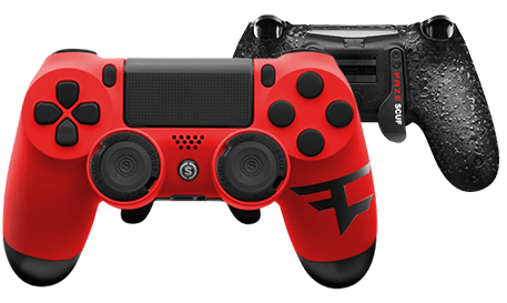 Learn how a SCUF controller can make you a better Fortnite player. Our interchangeable thumbsticks help you control your aim while our trigger control system helps you shoot faster. Finally, our paddles allow you to build faster and keep your fingers on the thumbsticks.