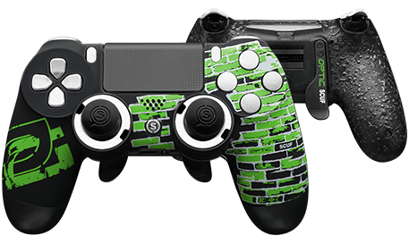 PlayStation 4 professional controller Infinity4PS optic greenwall