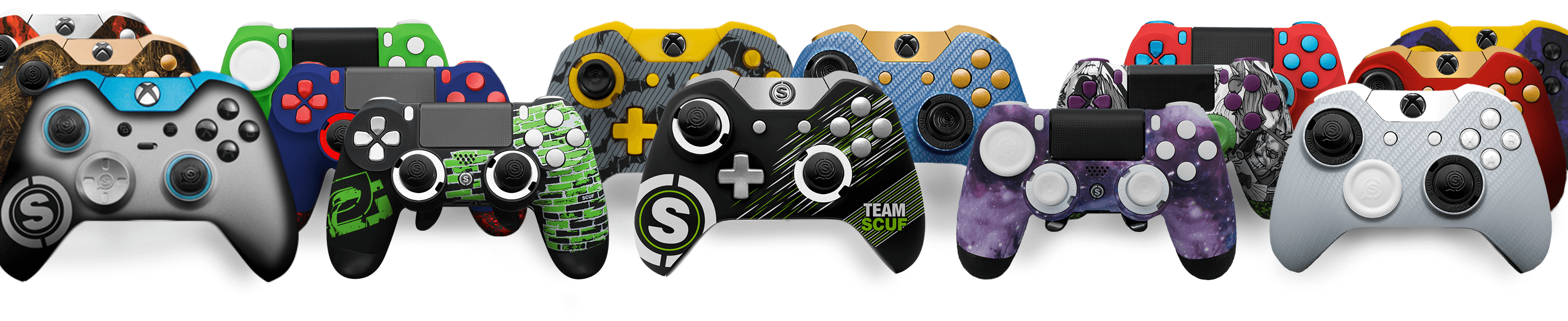 Design and Customization for Professional Controllers