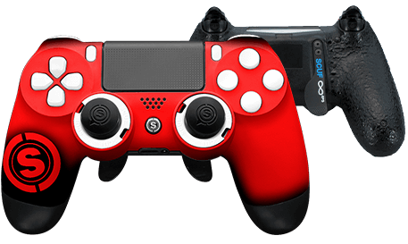 PlayStation 4 professional controller TeamSCUF Atlanta Falcons