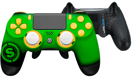 PlayStation 4 professional controller TeamSCUF Green Bay Packers