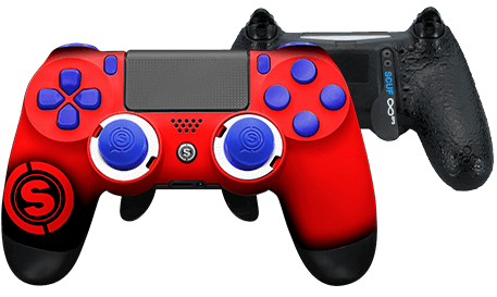 PlayStation 4 professional controller TeamSCUF Houston Texans