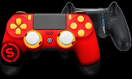 PlayStation 4 professional controller TeamSCUF Kansas City Cheifs