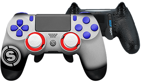 PlayStation 4 professional controller TeamSCUF New England Patriots