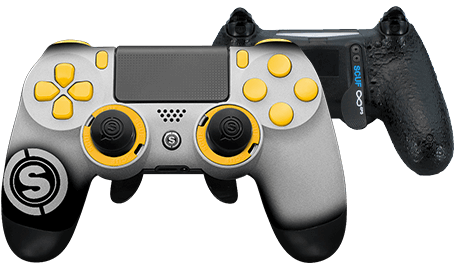 PlayStation 4 professional controller TeamSCUF Pittsburgh Steelers