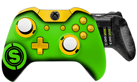 Xbox One professional controller TeamSCUF Green Bay Packers