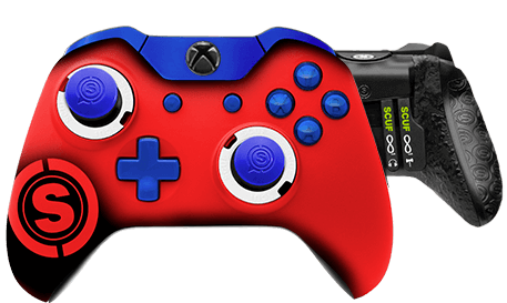 Xbox One professional controller TeamSCUF Houston Texans