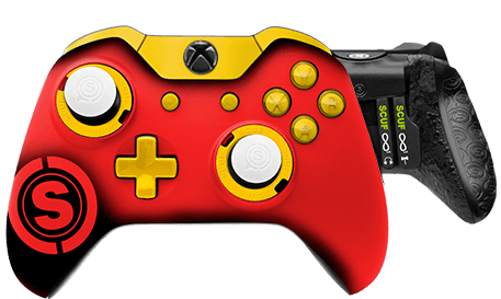 Xbox One professional controller TeamSCUF Kansas City Cheifs