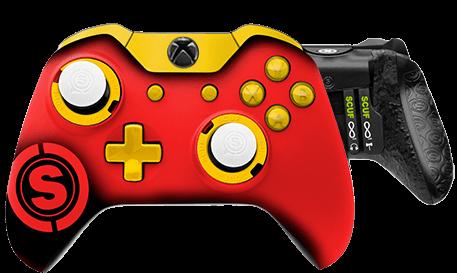 Xbox One professional controller TeamSCUF Kansas City Cheifs