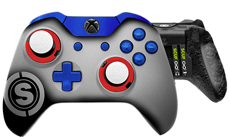 Xbox One professional controller TeamSCUF New England Patriots