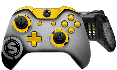 Xbox One professional controller TeamSCUF Pittsburgh Steelers