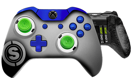 Xbox One professional controller TeamSCUF Seattle Seahawks