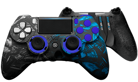 PlayStation 4 professional controller Infinity4PS PRO Knights of SCUF