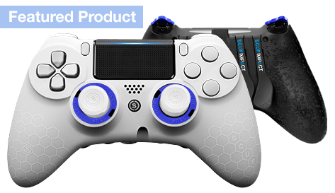 PlayStation 4 professional controller SCUF IMPACT Honeycomb White